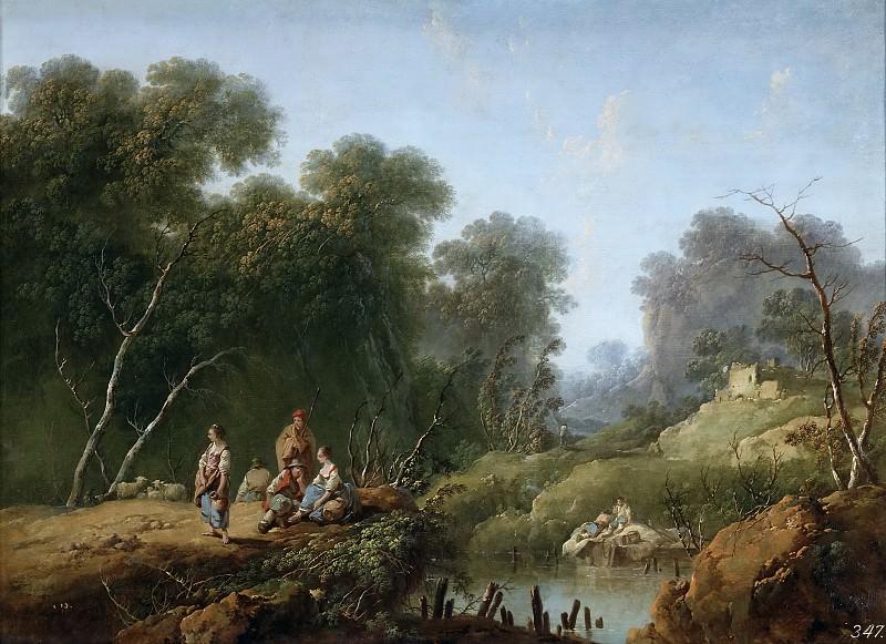Пилльмен, Жан-Батист -- Пейзаж. часть 5 Музей Прадо
