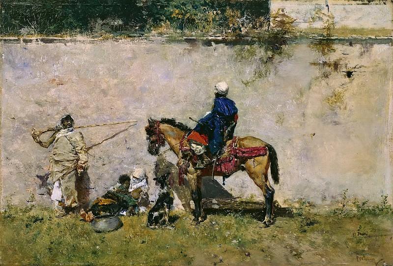 Fortuny Marsal, Mariano -- Marroquíes. Part 5 Prado Museum
