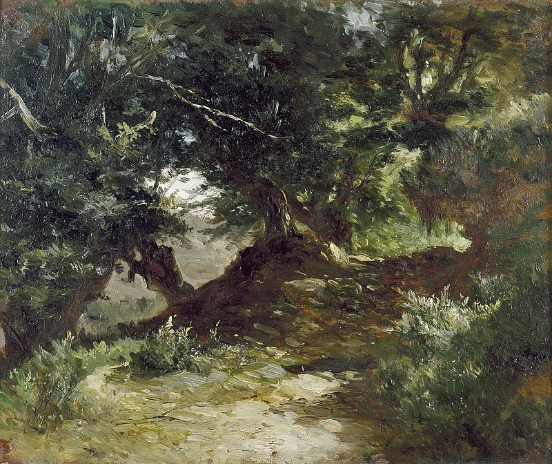 Хаэс, Карлос де -- Горная дорога в Астурии. часть 5 Музей Прадо