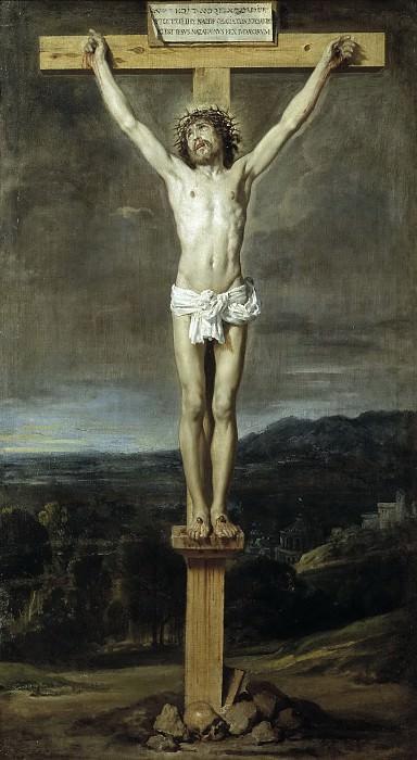 Velázquez, Diego Rodríguez de Silva y -- Cristo en la Cruz. Part 5 Prado Museum