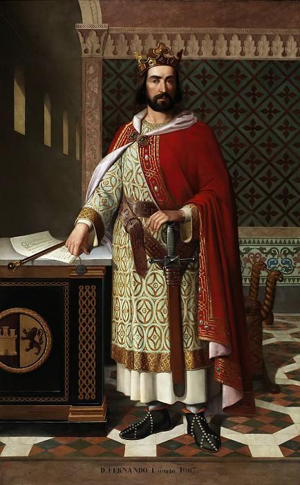 Маффеи Росаль, Антонио -- Фердинанд I, король Леона. часть 5 Музей Прадо