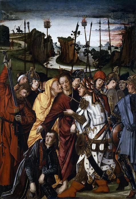 Osona, Francisco de; Osona, Rodrigo de -- El Prendimiento de Cristo. Part 5 Prado Museum