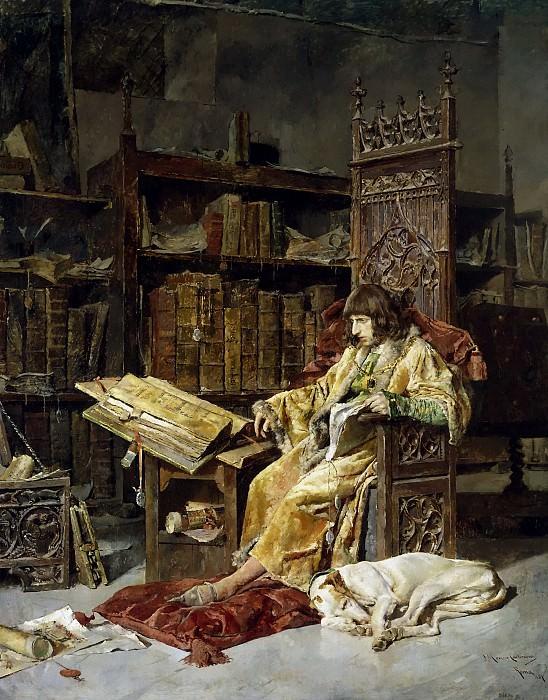 Moreno Carbonero, José -- El príncipe don Carlos de Viana. Part 5 Prado Museum