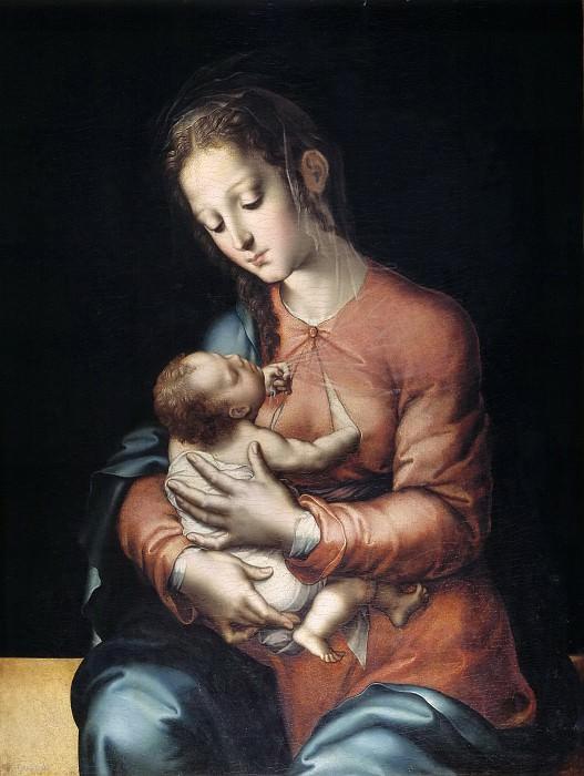 Morales, Luis de -- La Virgen y el Niño. Part 5 Prado Museum