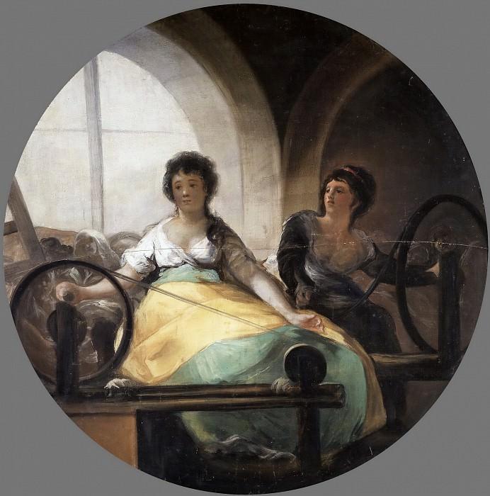 Goya y Lucientes, Francisco de -- La Industria. Part 5 Prado Museum