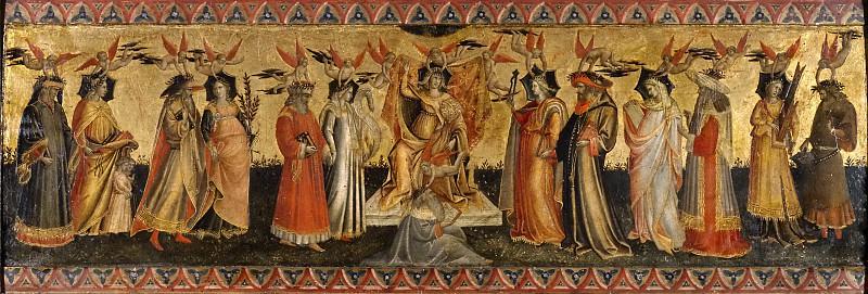 Ponte, Giovanni dal -- Las Siete Artes Liberales. Part 5 Prado Museum