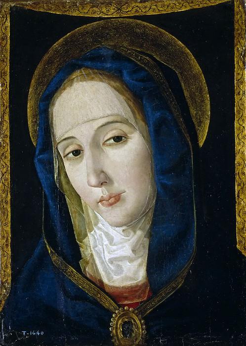 Сан Леокадио, Паоло де -- Скорбящая Мадонна. часть 5 Музей Прадо
