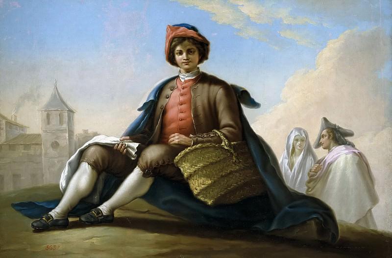Bayeu y Subías, Ramón -- El muchacho de la esportilla. Part 5 Prado Museum