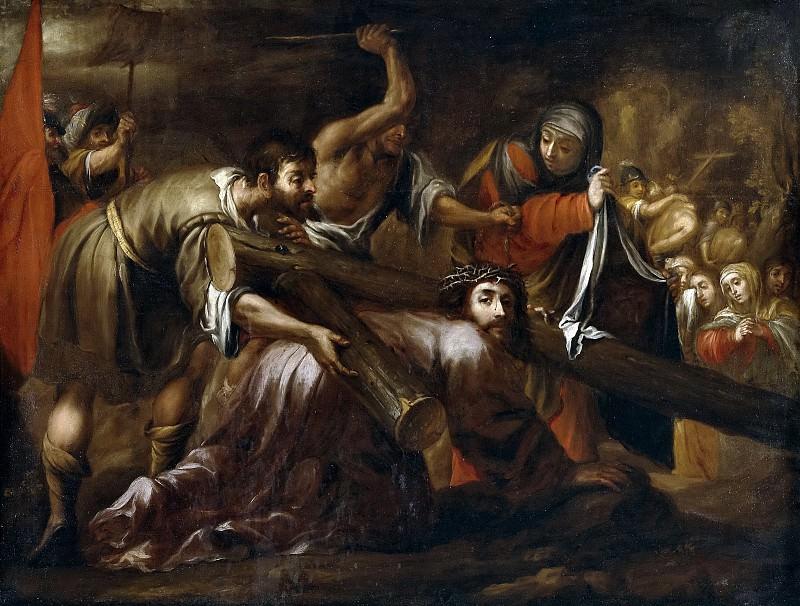 Valdés Leal, Juan de -- Jesucristo camino del Calvario y la Verónica. Part 5 Prado Museum