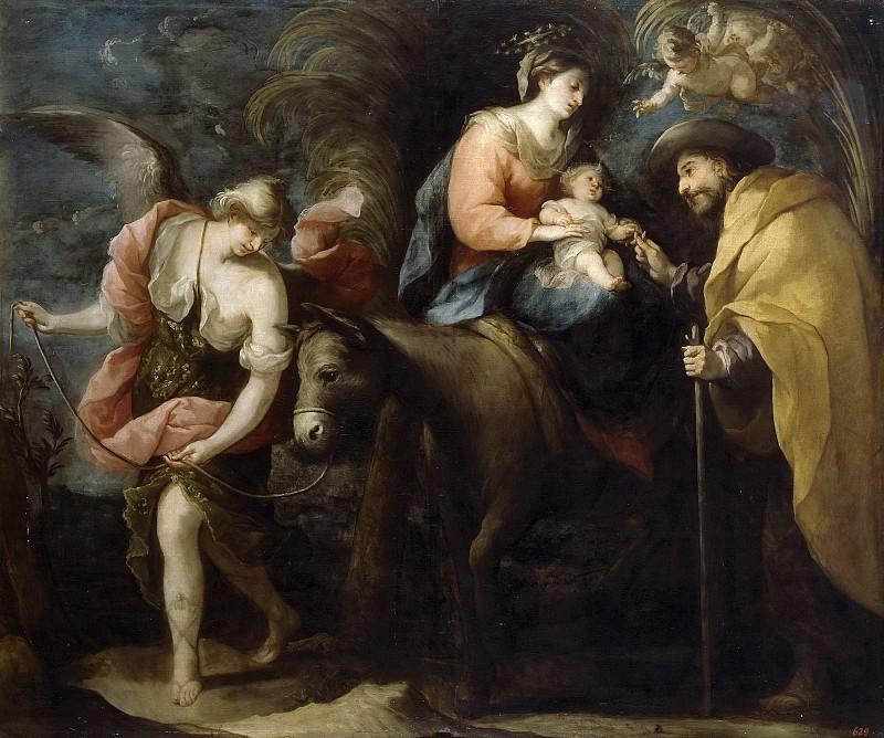 Moreno, José -- La Huida a Egipto. Part 5 Prado Museum