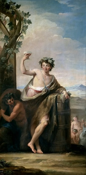 Maella, Mariano Salvador -- El Otoño. Part 5 Prado Museum