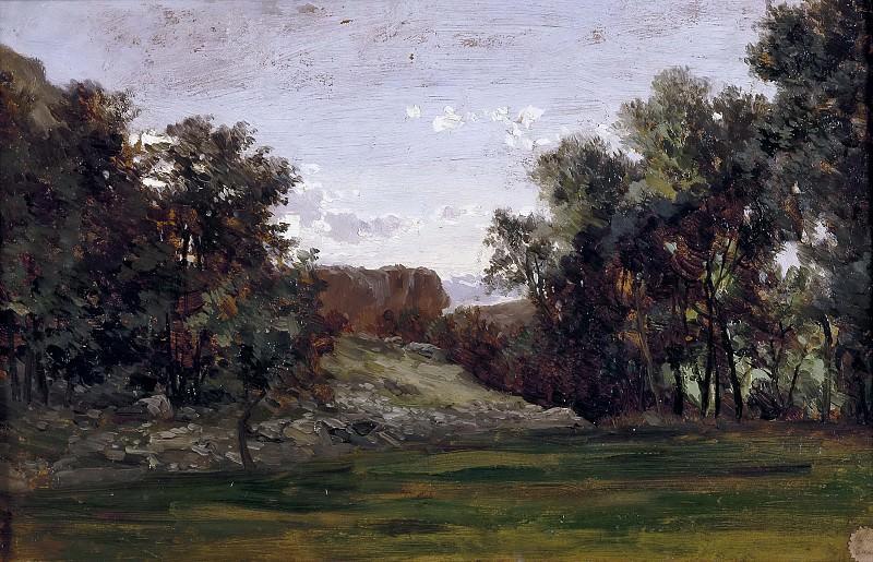 Хаэс, Карлос де -- Пейзаж близ монастыря Пьедра. часть 5 Музей Прадо