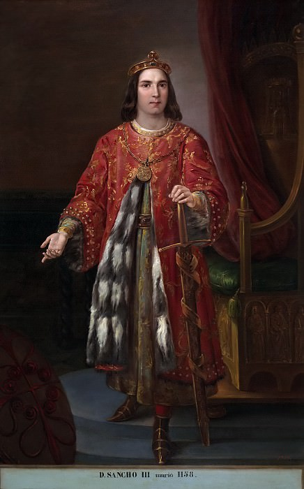Castelaro y Perea, José -- Sancho III, rey de Castilla. Part 5 Prado Museum