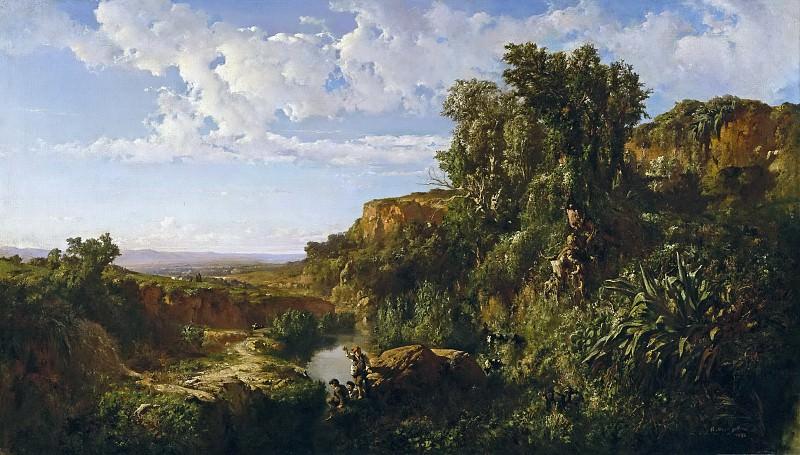 Martí Alsina, Ramón -- Paisaje de Cataluña. Part 5 Prado Museum