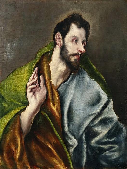 El Greco (y taller) -- Santo Tomás. Part 5 Prado Museum