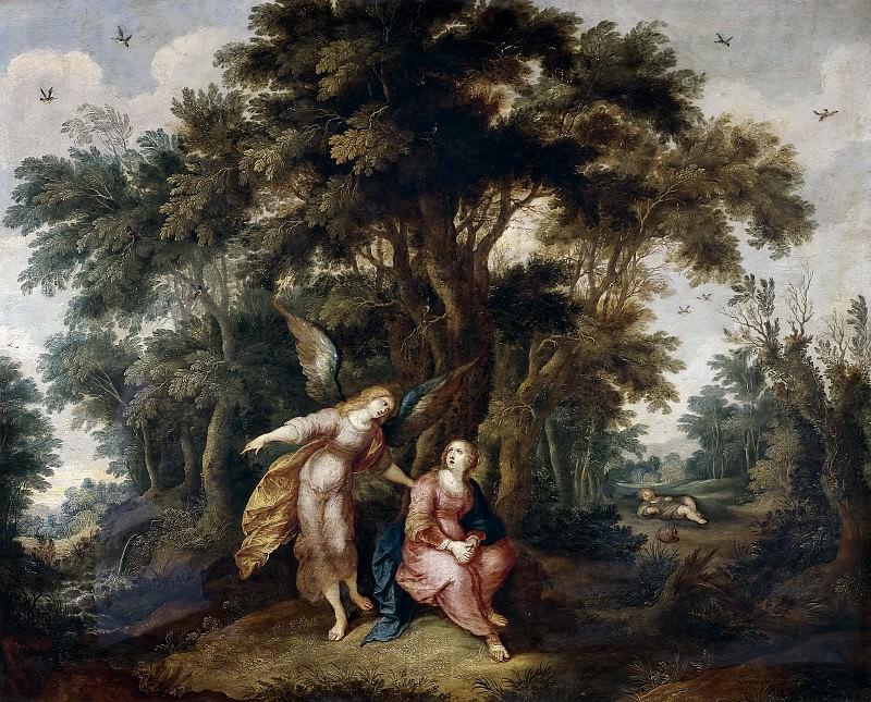Francken, Frans II -- Agar y el ángel. Part 5 Prado Museum