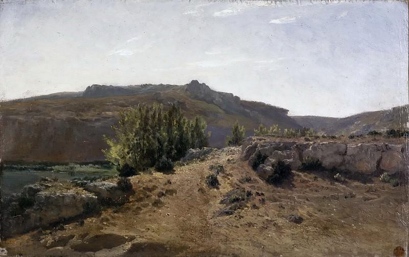 Haes, Carlos de -- Nuévalos (Aragón). Part 5 Prado Museum