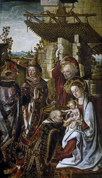 Osona, Francisco de; Osona, Rodrigo de -- La Adoración de los Reyes Magos. Part 5 Prado Museum