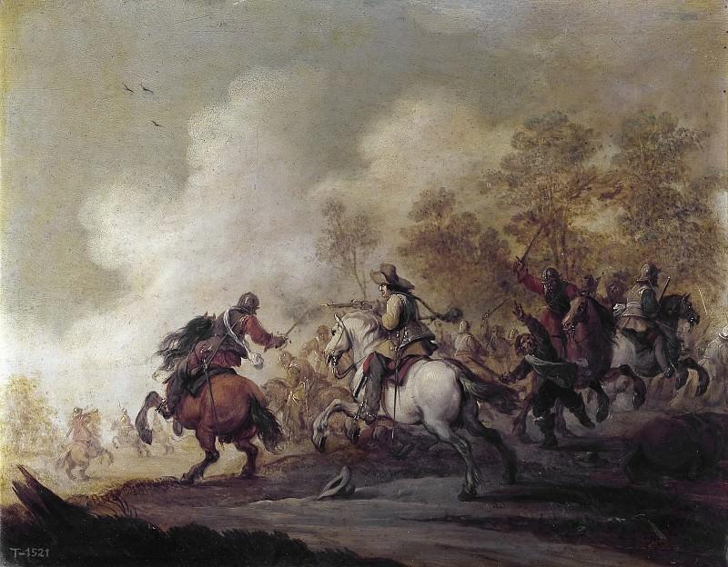Меленер, Питер -- Атака кавалерии. часть 5 Музей Прадо