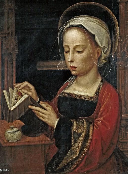 Isenbrandt, Adriaen -- Maria Magdalena leyendo. Part 5 Prado Museum