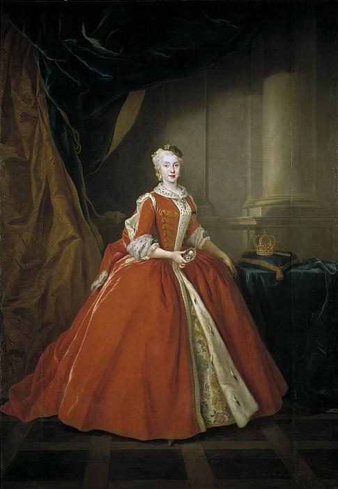Silvestre, Louis -- María Amalia de Sajonia, reina de España. Part 5 Prado Museum