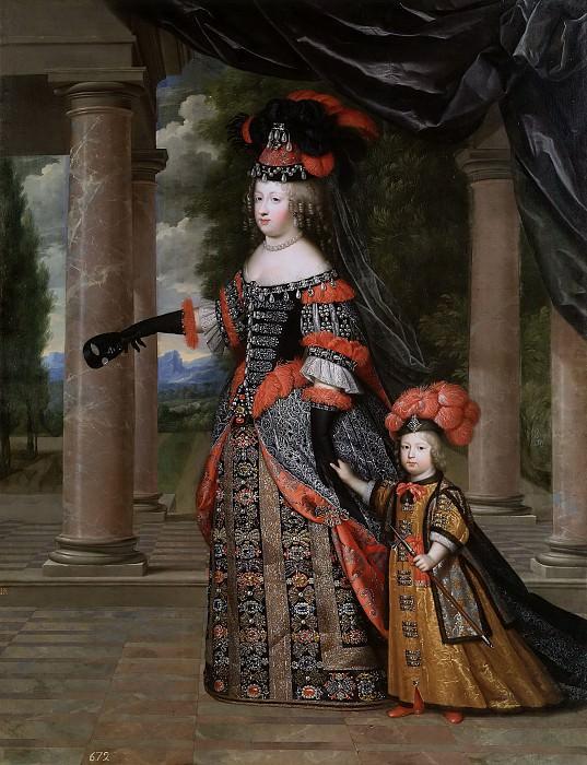 Beaubrun, Charles; Beaubrun, Henry -- María Teresa de Austria y el Gran Delfín de Francia. Part 5 Prado Museum
