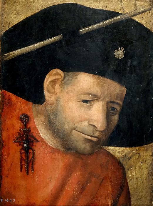 El Bosco (Copia) -- Un ballestero. Part 5 Prado Museum