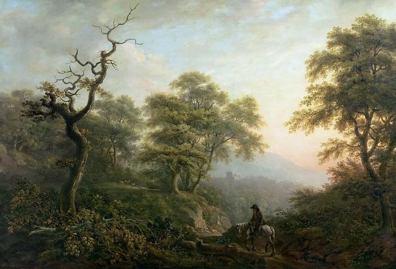 Покок, Николас -- Пейзаж с всадником. часть 5 Музей Прадо
