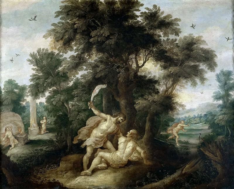 Francken, Frans II -- Caín matando a Abel. Part 5 Prado Museum
