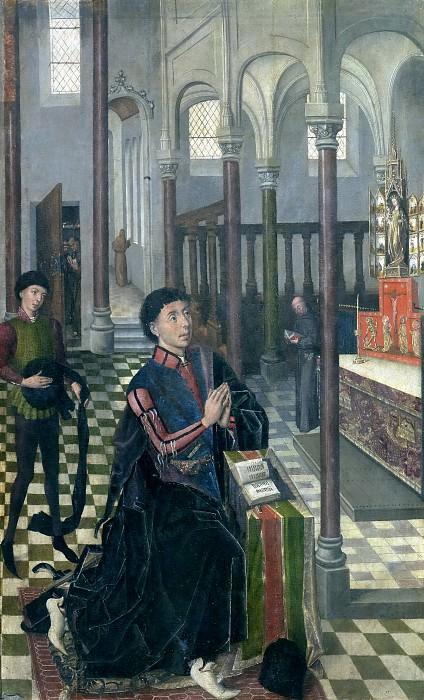 Maestro de Sopetrán -- El I duque del Infantado. Part 5 Prado Museum