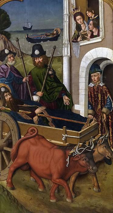 Бернат, Мартин -- Перевозка тела св Иакова Старшего. часть 5 Музей Прадо