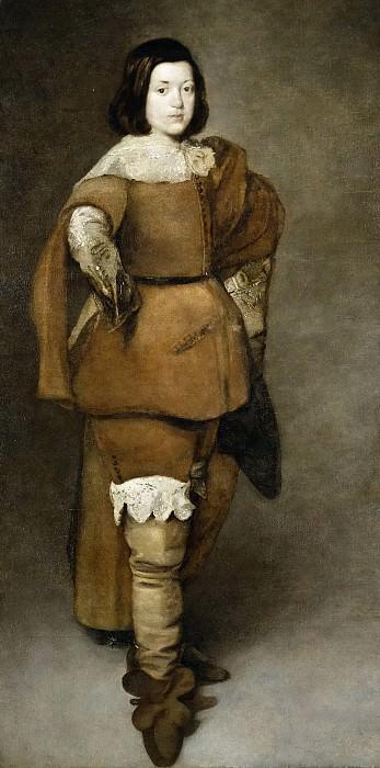 Anónimo -- Un hijo de Francisco Ramos del Manzano. Part 5 Prado Museum