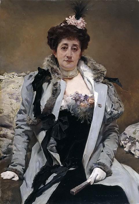 Sala y Francés, Emilio -- Retrato de señora. Part 5 Prado Museum