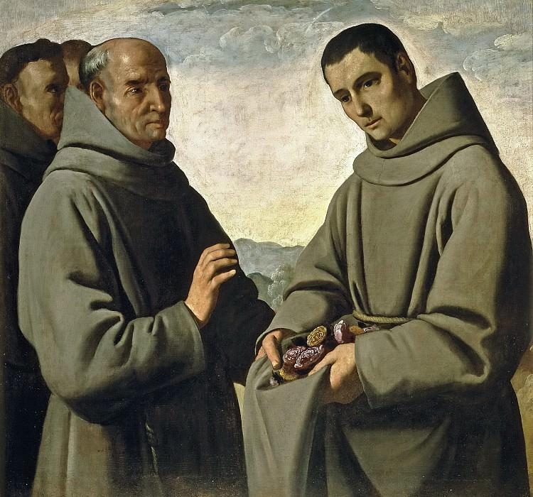 Zurbarán, Francisco de -- San Diego de Alcalá. Part 5 Prado Museum