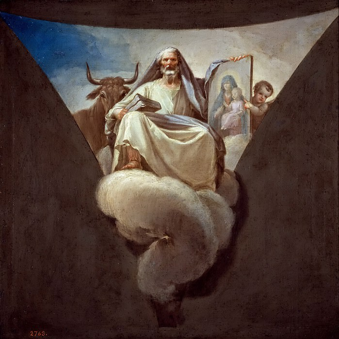 Байеу и Субиас, Франсиско -- Святой Лука. часть 5 Музей Прадо