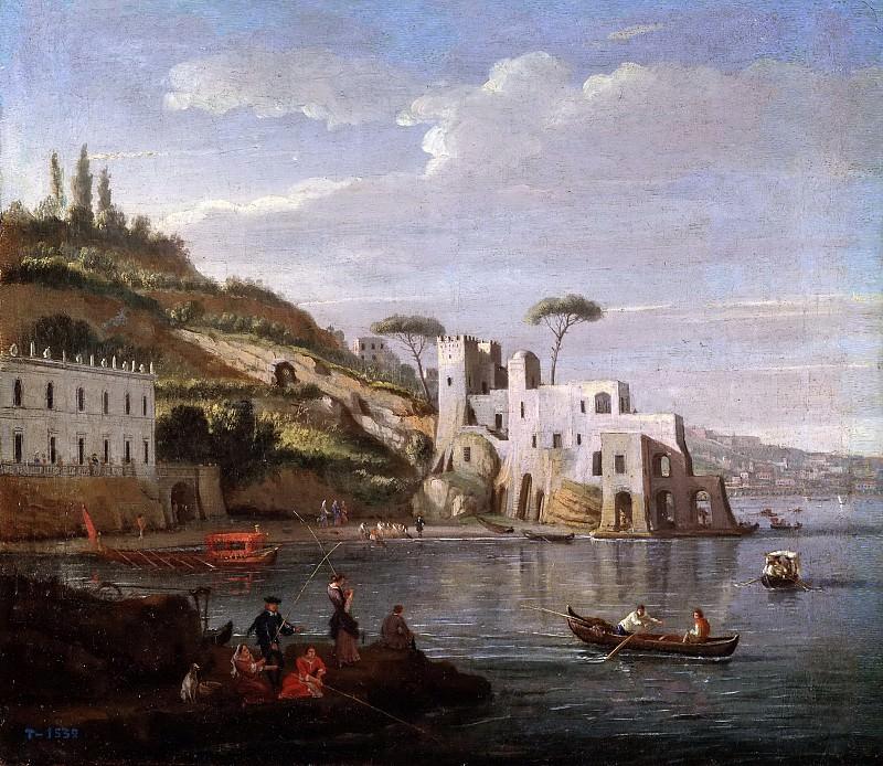 Vanvitelli, Gaspare -- Alrededores de Nápoles. Part 5 Prado Museum
