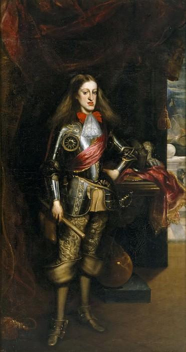Carreño de Miranda, Juan -- Carlos II, con armadura. Part 5 Prado Museum