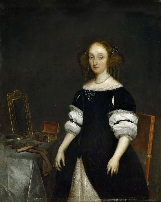 Borch II, Gerard ter -- Petronella de Waert. Part 5 Prado Museum