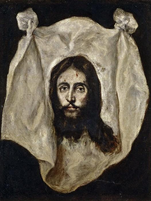 El Greco (y taller) -- La Santa Faz. Part 5 Prado Museum