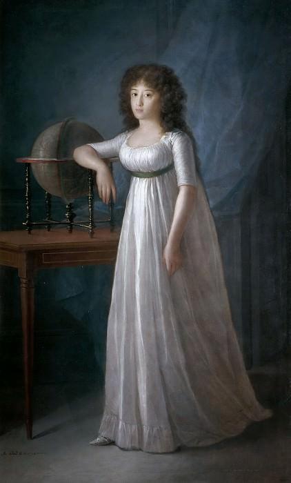 Esteve y Marqués, Agustín -- Joaquina Téllez-Girón, hija de los IX duques de Osuna. Part 5 Prado Museum