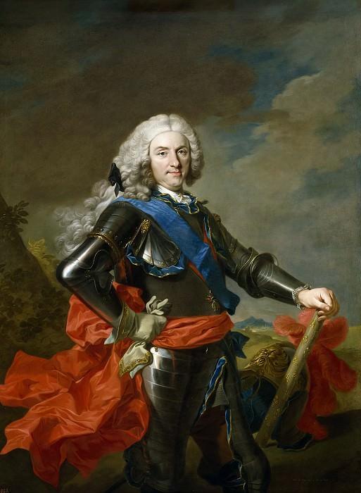 Loo, Louis Michel van -- Felipe V, rey de España. Part 5 Prado Museum