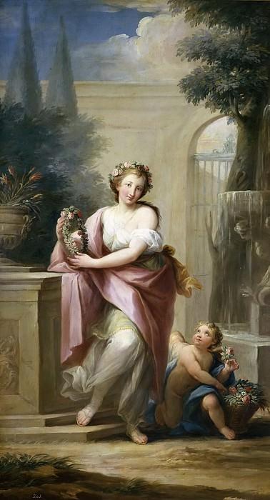 Maella, Mariano Salvador -- La Primavera. Part 5 Prado Museum