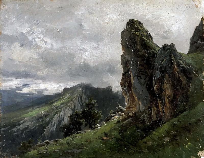 Haes, Carlos de -- Picos de Europa. Part 5 Prado Museum