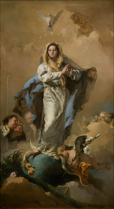 Tiepolo, Giambattista - The Immaculate Conception. Masterpieces of the Prado Museum