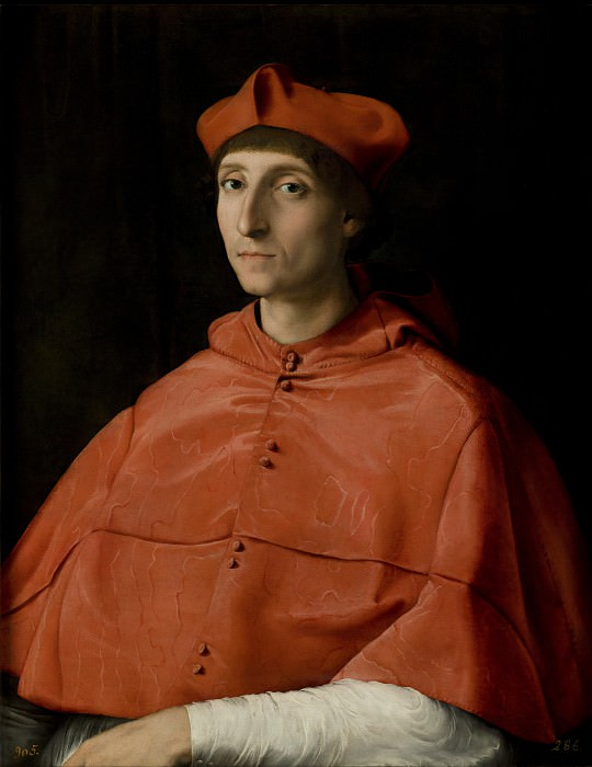 Raphael - The Cardinal. Masterpieces of the Prado Museum