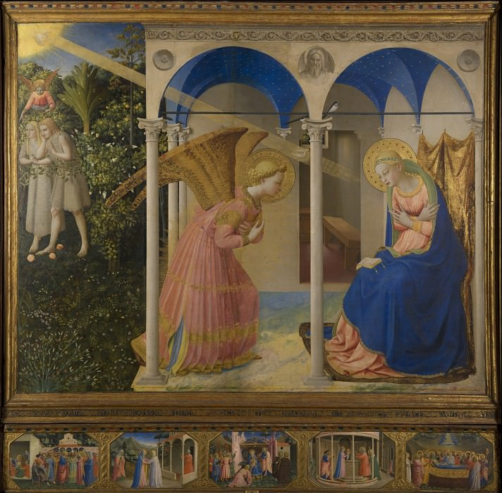 Angelico, Fra - The Annunciation. Masterpieces of the Prado Museum