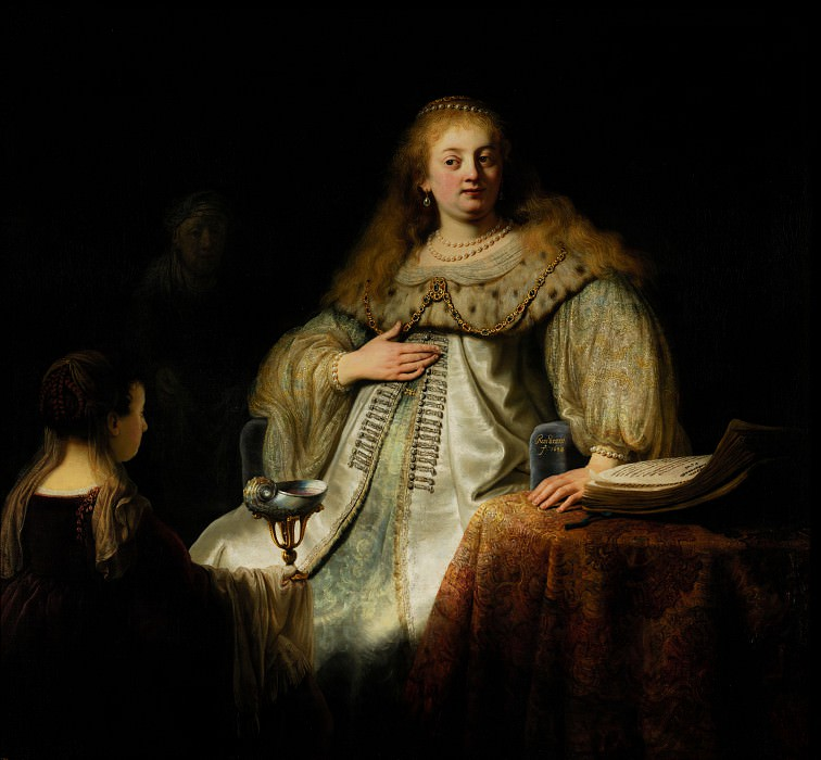 Rembrandt, Harmensz van Rijn - Artemis. Шедевры музея Прадо