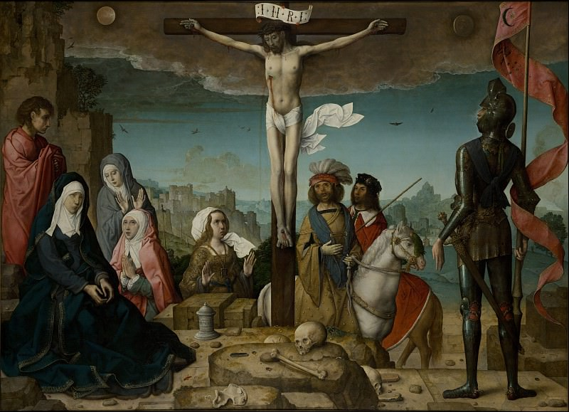 Flades, Juan de - Crucifixion. Masterpieces of the Prado Museum