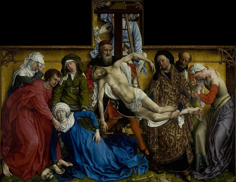 Weyden, Roger van der - Descent from the Cross. Шедевры музея Прадо