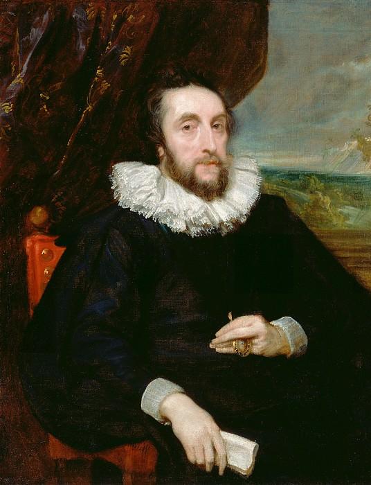 Дейк Антонис ван (1599 Антверпен - 1641 Лондон) - Томас Говард, 2-й граф Арундель (103х79 см) ок1621. J. Paul Getty Museum